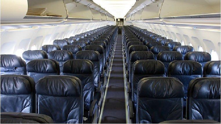 Airbus 320-200 cabin