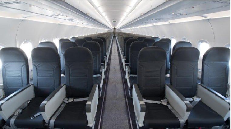 Airbus 321-200 cabin