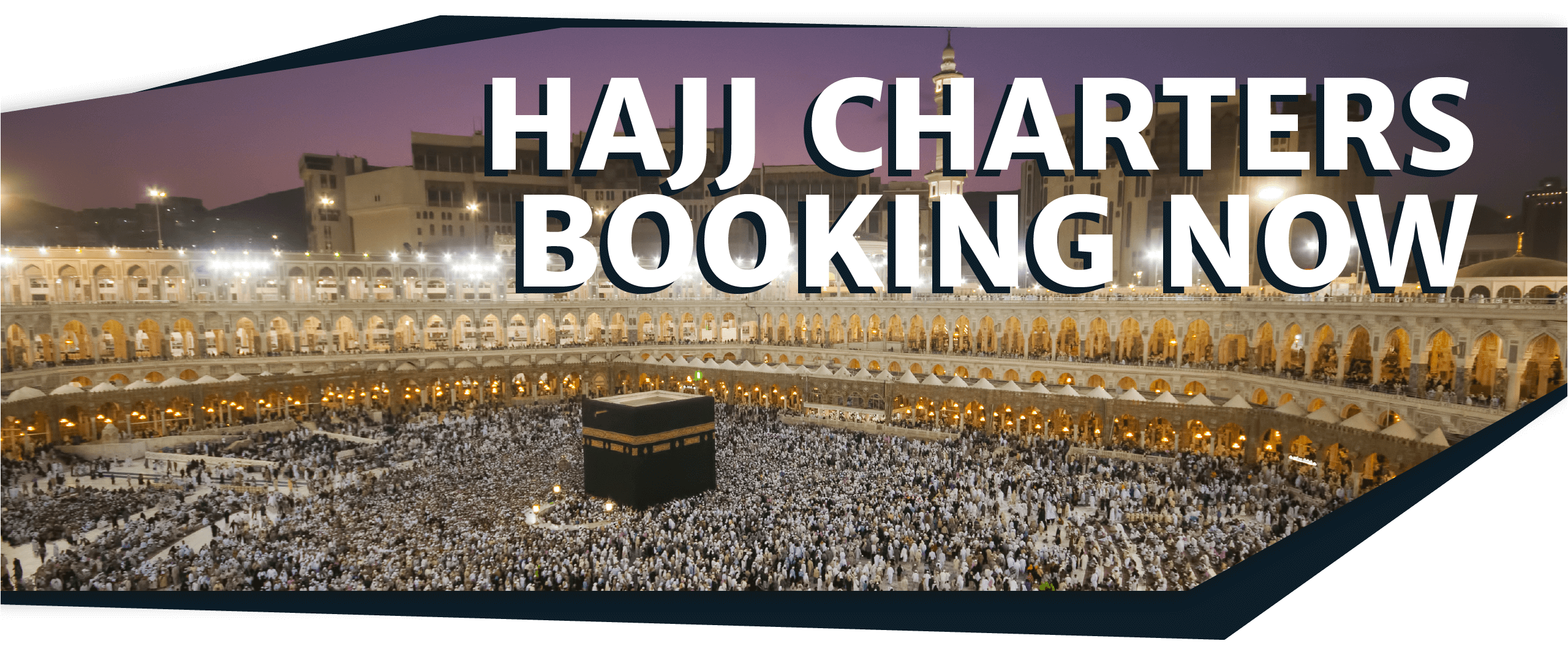 Book Your Hajj Charter